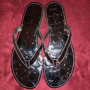 🆕 Coach Cadee Flip Flops/Sandals